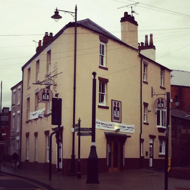 The Alb, 14 Smithfield Road, Shrewsbury, SY1 1PB